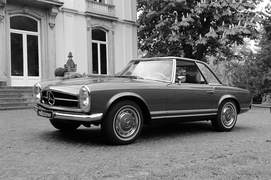 Mercedes benz 280 sl 39 pagoda 39 for Mercedes benz inspection cost
